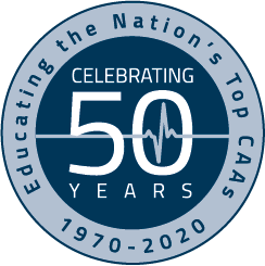 Educating the Nation's Top  CAAs Celebrating 50 Years 1970 - 2020