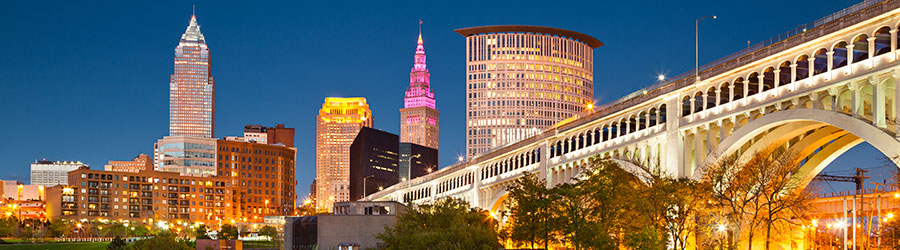 image of downtown Cleveland