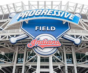 Image of Progressive field where Cleveland Indians play