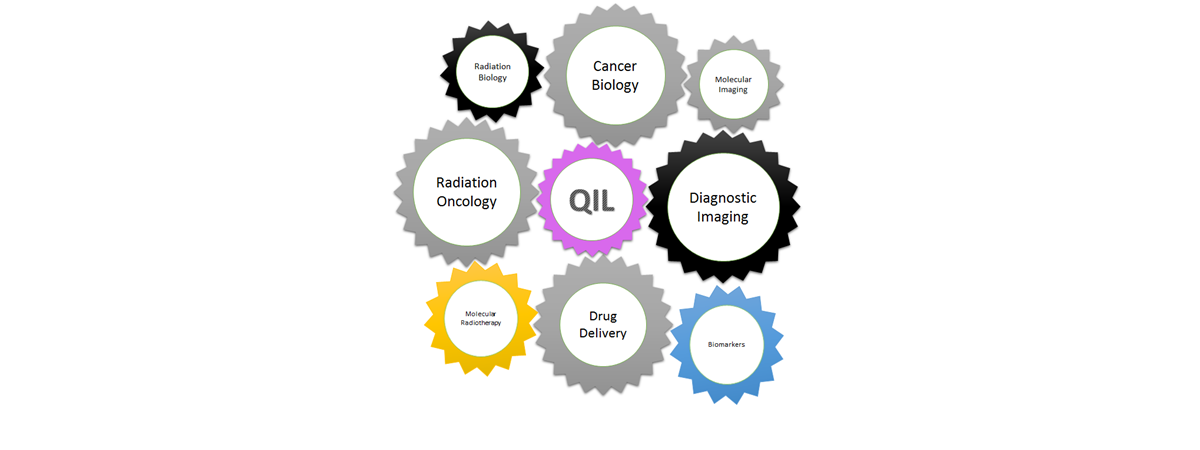 QIL gears Quantitative PET/MRI Imaging scan, showing axial, coronal and sagittal CT and Synthetic CT scans.