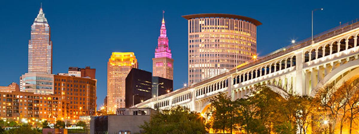 Image of Cleveland Skyline.