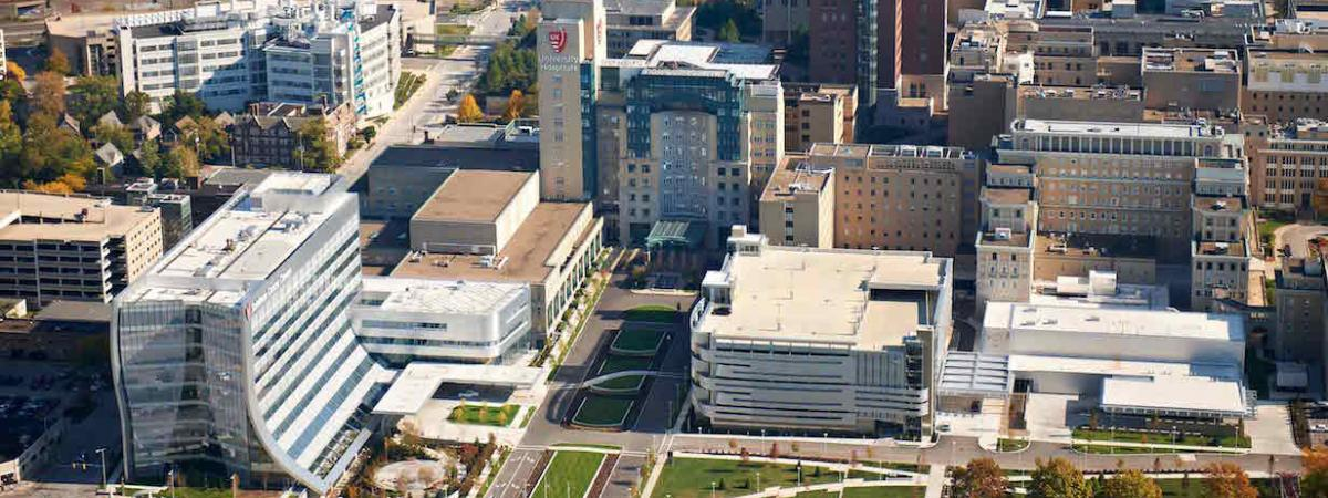Image of UH in a bird view.