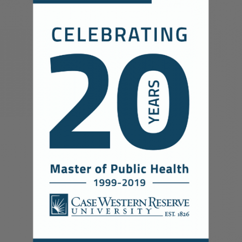 Master of Public Health 20th Anniversary logo