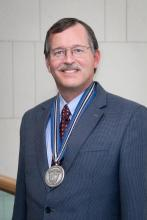 photo of Cliff Harding, Case Medal award winner