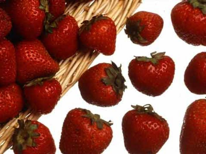 Images of strawberries.