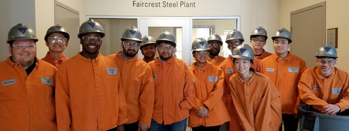 MEM students at Timken Corporation.
