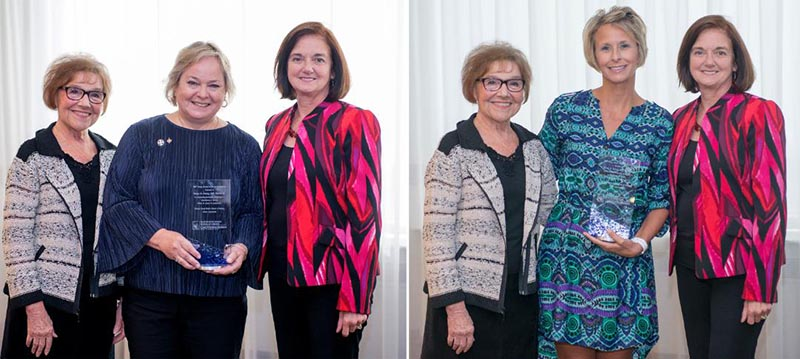 Photo of CWRU alumni award winners