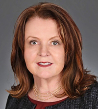 Headshot of Margaret Fitzgerald, advisory board member for the Marian K. Shaughnessy Nurse Leadership Academy at the Frances Payne Bolton School of Nursing at Case Western Reserve University in Cleveland, Ohio.