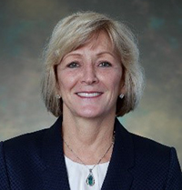 Headshot of Carol Porter, advisory board member for the Marian K. Shaughnessy Nurse Leadership Academy at the Frances Payne Bolton School of Nursing at Case Western Reserve University in Cleveland, Ohio.