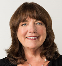 Headshot of Susan Reinhard, advisory board member for the Marian K. Shaughnessy Nurse Leadership Academy at the Frances Payne Bolton School of Nursing at Case Western Reserve University in Cleveland, Ohio.