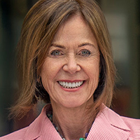 Headshot of Marian K. Shaughnessy, co-chair of the Marian K. Shaughnessy Nurse Leadership Academy at the Frances Payne Bolton School of Nursing at Case Western Reserve University in Cleveland, Ohio.