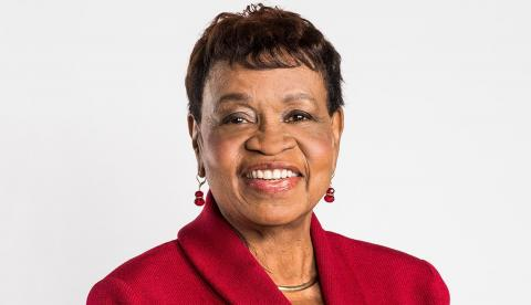 Photo of Catherine Alicia Georges, president of AARP National Volunteers