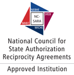 National Council for State Authorization Reciprocity Agreements (NC-SARA) Approved Institution