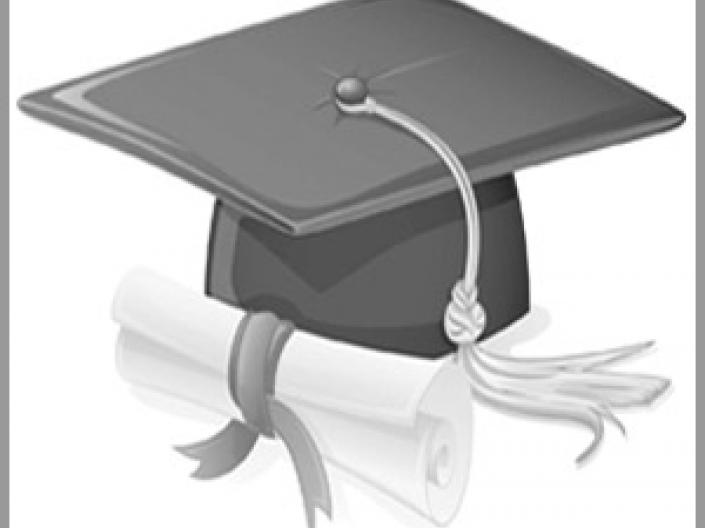 Cap and Diploma Black and White Case Western Reserve University Online Degree Programs