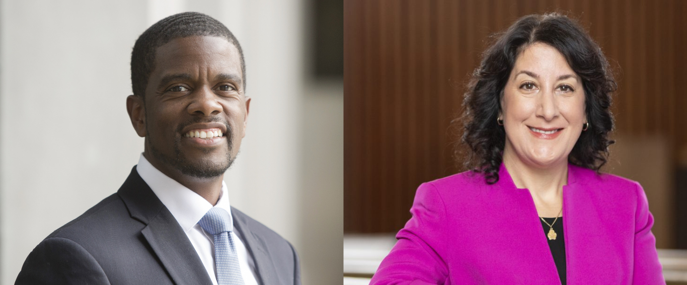 Headshots of Dr. Suzanne Rivera and Mayor Melvin Carter