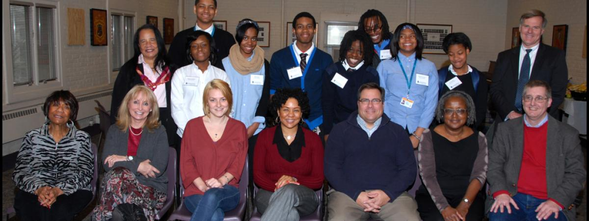 The Provost Scholars Mentors and Students from 2013.