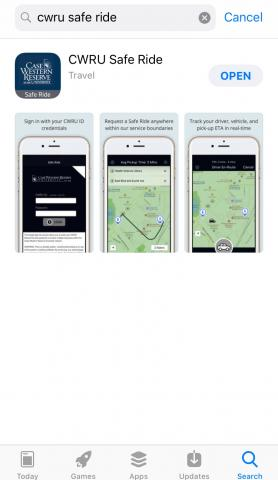 Photo of Safe Ride App