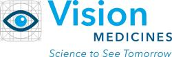 Vision Medicines logo Science to See Tomorow