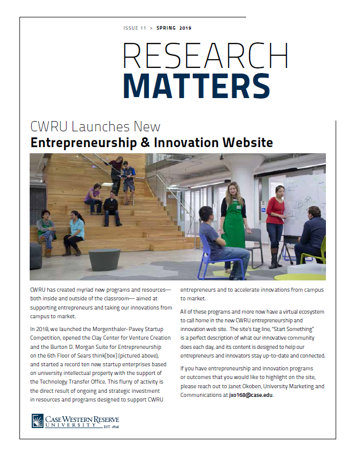 Research Matters Spring2019