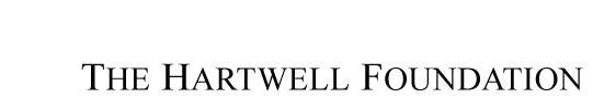 Hartwell Foundation logo