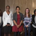 Five Case Western Reserve University female externs