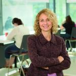 Photograph of Dr. Sonia Minnes, new Research Director of the Schubert Center