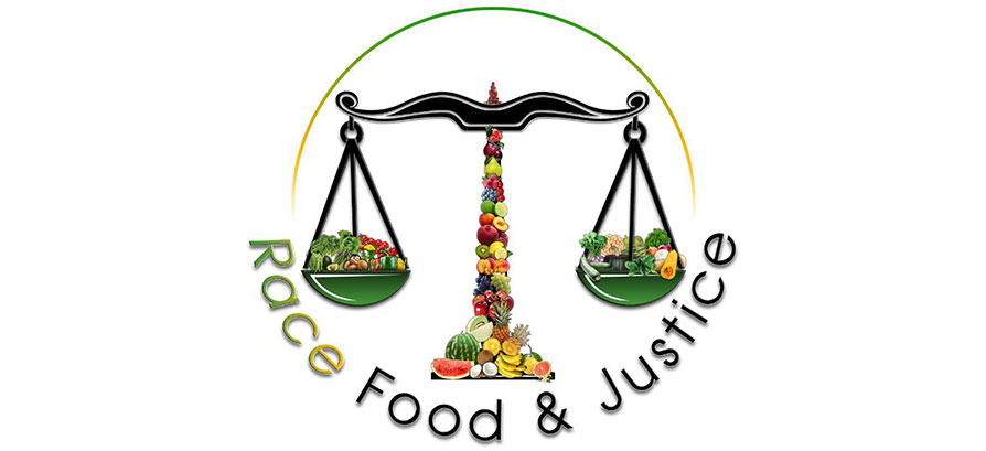 Logo for race, food and justice