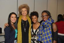 Four African-American women at Think Tank conference
