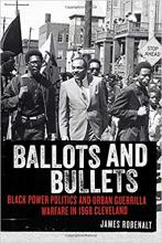 Photograph of book cover: Ballots and Bullets by James Robenalt