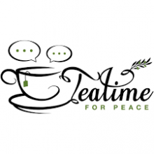 Logo for Teatime for Peace event