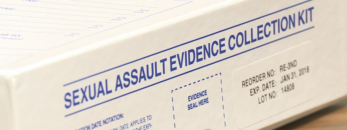 Sexual Assault Evidence Collection Kit box