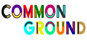 "Words ""common ground"" - logo"