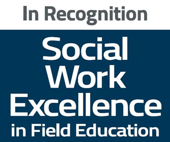 In recognition social work excellence in field education