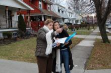 Surveying Cleveland neighborhoods