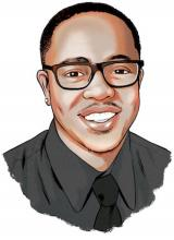 Illustration of award winner Donte L. Gibbs