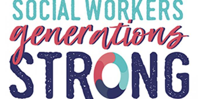 Social Workers: Generations Strong (Logo)