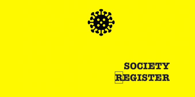 Society Register cover page