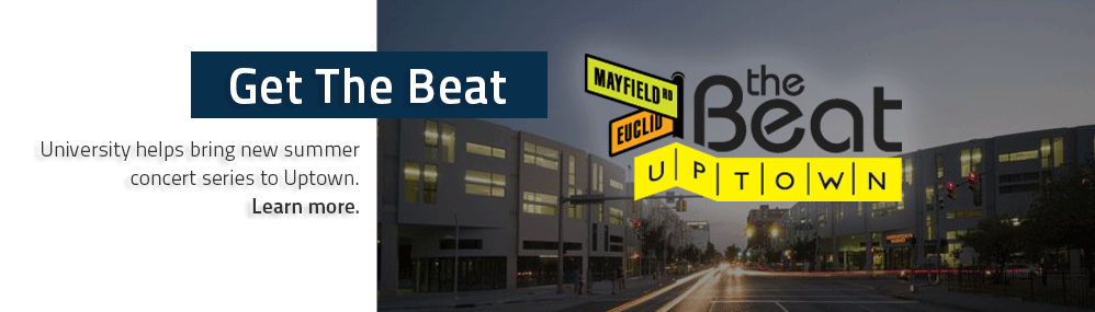Get The Beat University helps bring new summer concert series to Uptown. Learn more.