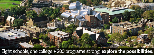 Eight schools, one college and 200 programs strong. Explore the possibilities.