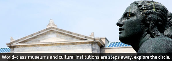 World-class museums and cultural institutions are steps away. Explore University Circle.