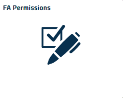 Financial Aid Permissions tile icon