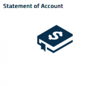 book graphic tile view for Statement of Account
