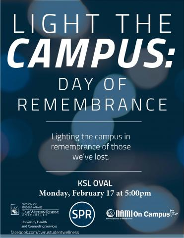 light the campus flier