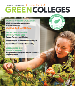 Cover of Princeton Guide to Green Schools