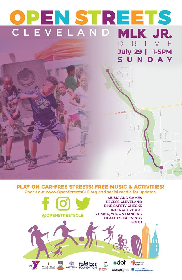 Poster for Open Streets Cleveland