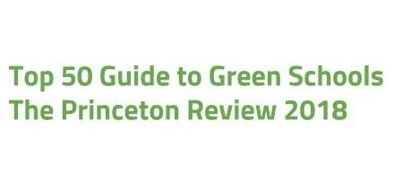 Top 50 Guide to Green Schools  The Princeton Review 2018