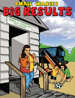 cover image of the comic book, Small Changes, Big Results