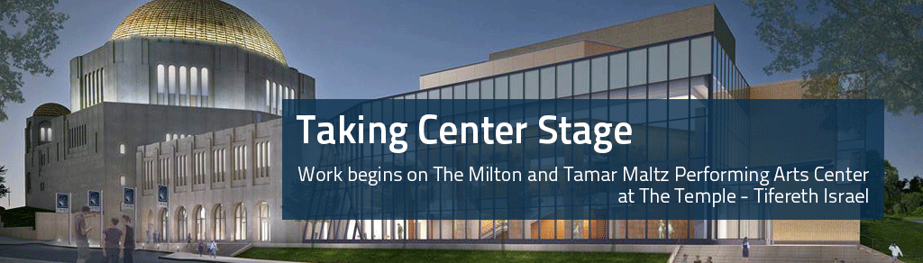 construction begins on maltz performing arts center