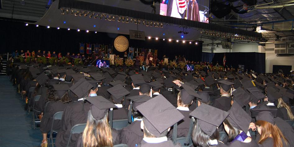 Case Western Reserve University Commencement 2017 Undergraduate Diploma Ceremony in Veale Convocation Center