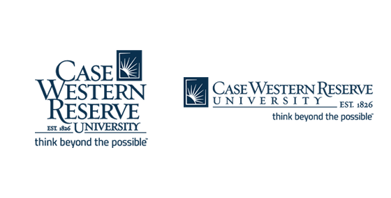 Case Western Reserve University stacked and horizontal logos